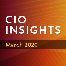 CIO Insights | March 2020