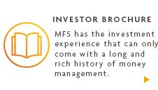 MFS has the investment experience that can only come with a long and rich history of money management.
