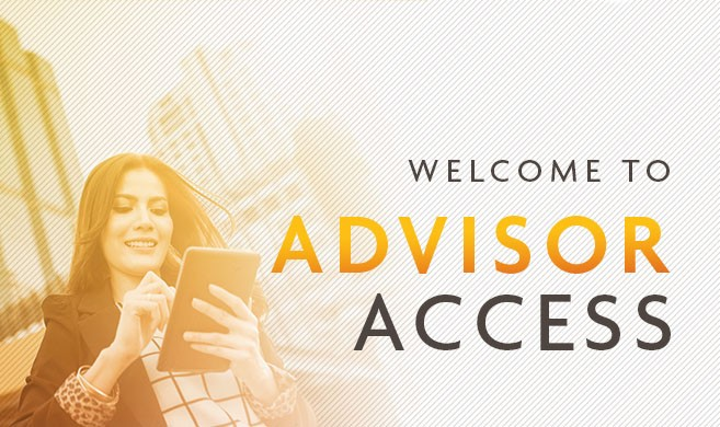 weclome to our advisor access page